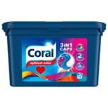 Coral Colorwaschmittel 3in1 Caps 563g, 16+2WL
