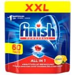 Finish All in 1, Spülmaschinentabs, XXL, 60er Tabs Citrus
