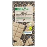 REWE Bio Schokolade Nougat and Crisp vegan 100g
