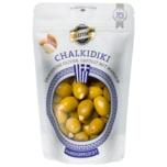 Dumet Chalkidiki Griechische Oliven, gefüllt mit Mandeln 150g