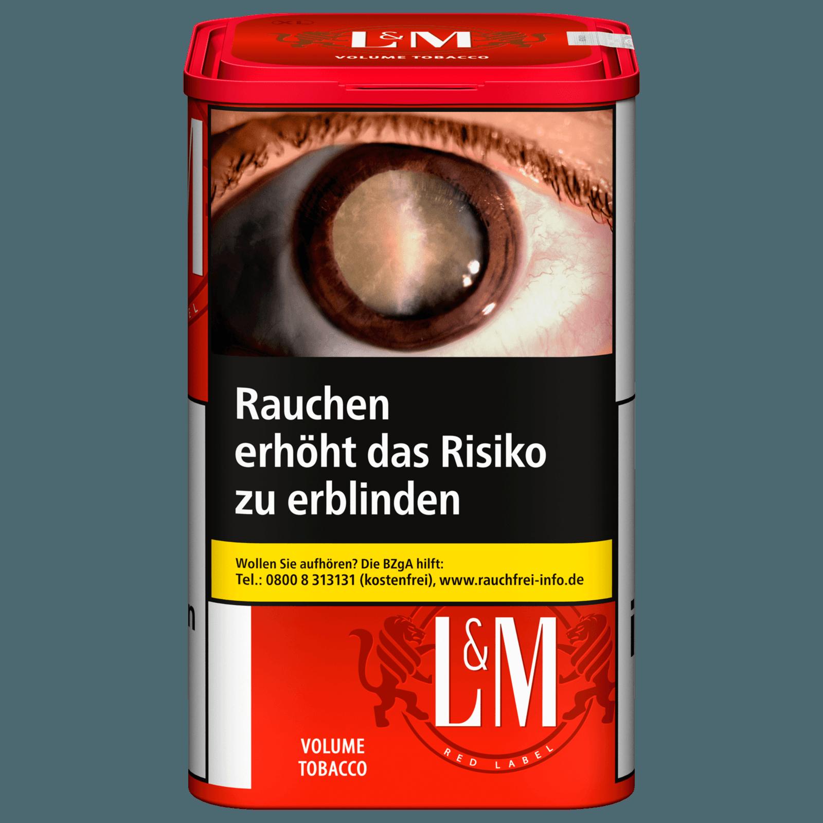 L&M Volume Tobacco Red 130g