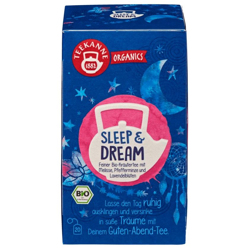 Teekanne Organics Bio Tee Sleep & Dream 36g, 20 Beutel