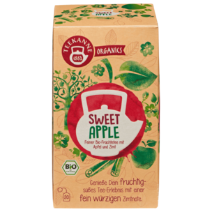Teekanne Sweet Apple Bio Tee 50g, 20 Beutel