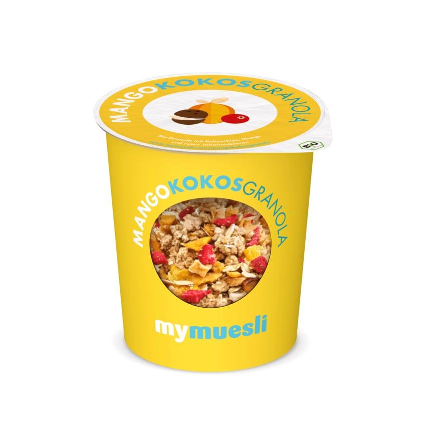 MyMüsli Bio Mango Kokos Granola 2go 85g