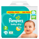 Pampers BABY DRY Windeln Gr. 3 Midi 6-10kg Doppelpack 76ST