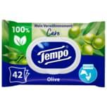 Tempo feuchte Toilettentücher Verwöhnmoment Grüner Tee & Gurke 42 Tücher