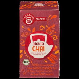 Teekanne Organics Bio Tee Oriental Chai 36g, 20 Beutel