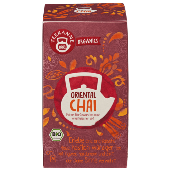 Teekanne Bio Organics Oriental Chai 36g, 20 Beutel