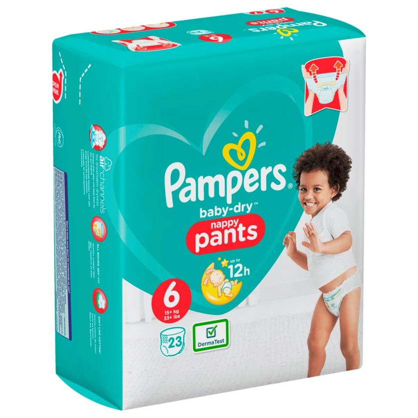 Pampers Baby Dry Pants Windeln Gr.6 Extr.Large 15+kg 23 Stück