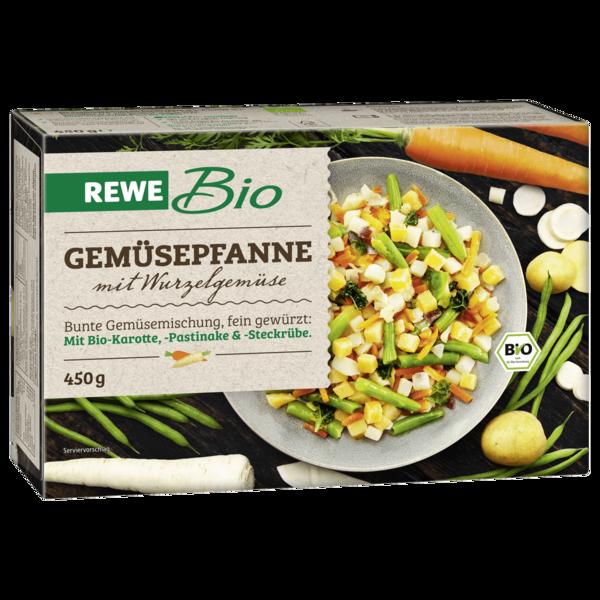 REWE Bio Gemüsepfanne mit Wurzelgemüse 450g