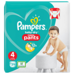 Pampers Baby Dry Pants Windeln Gr. 4 Maxi 9-15kg 29 Stück