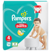 Pampers Baby Dry Pants Windeln Gr. 4 Maxi 9-15kg 29 Stück