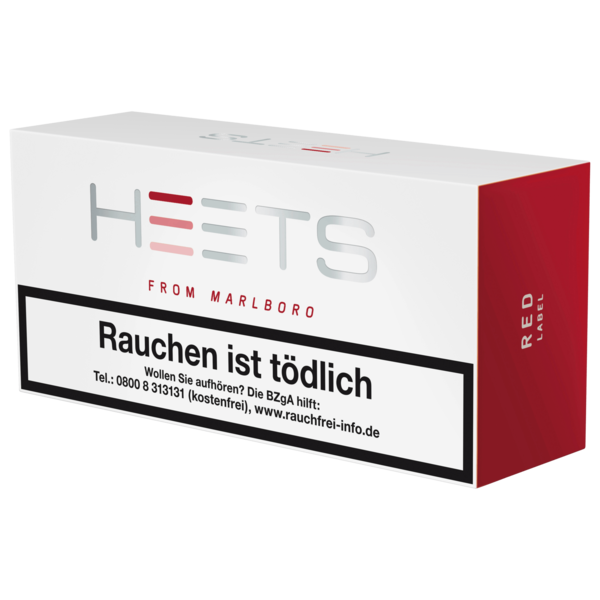 Heets Red Label Tabak Sticks 10x20 Stück
