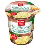 Rewe Kartoffelpüree Spinat 50g