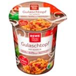 REWE Beste Wahl Gulaschtopf mit Nudeln 61g