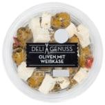 Deli Genuss Oliven mit Weißenkäse 165g