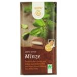 Gepa Bio Schokolade mit Minz-Füllung zartbitter 100g