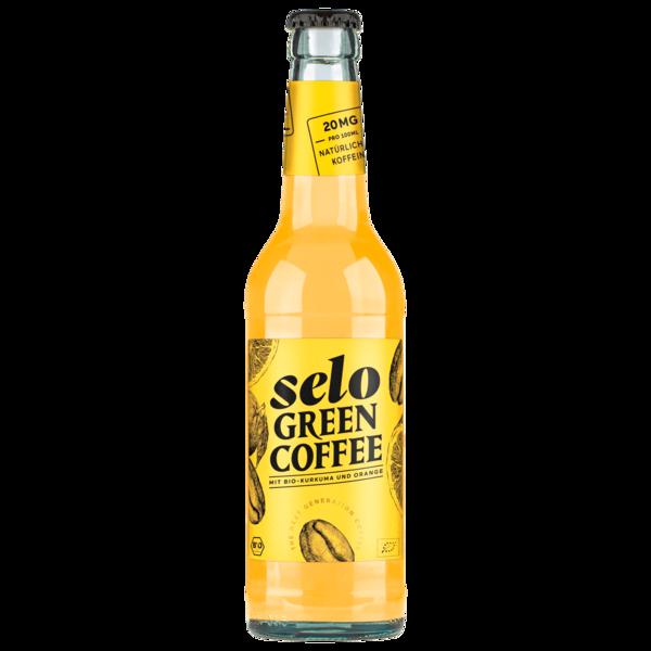 Selo Green Coffee mit Kurkuma und Orange Bio 0,33l