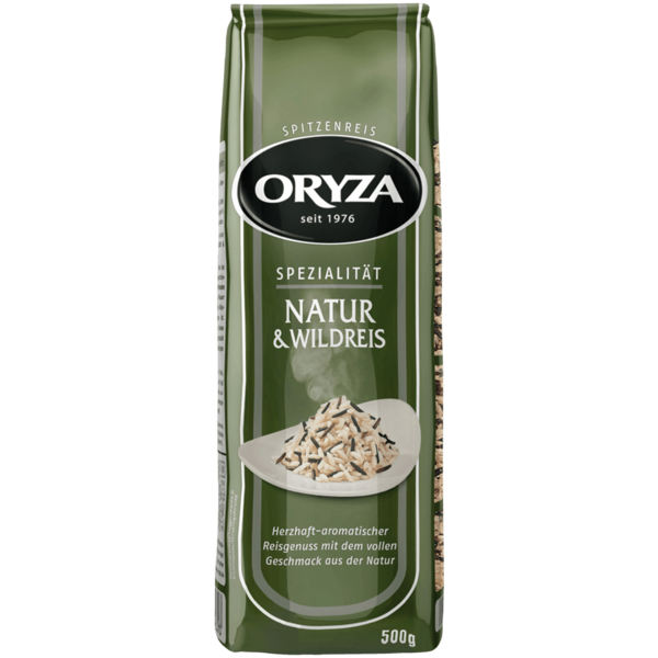 Oryza Natur- & Wildreis 500g