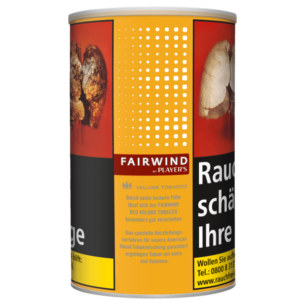 Fairwind by Players Red Volume Tobacco 70g