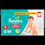 Pampers Baby Dry Pants Gr. 4 Maxi 9-15kg Dreier 88 Stück