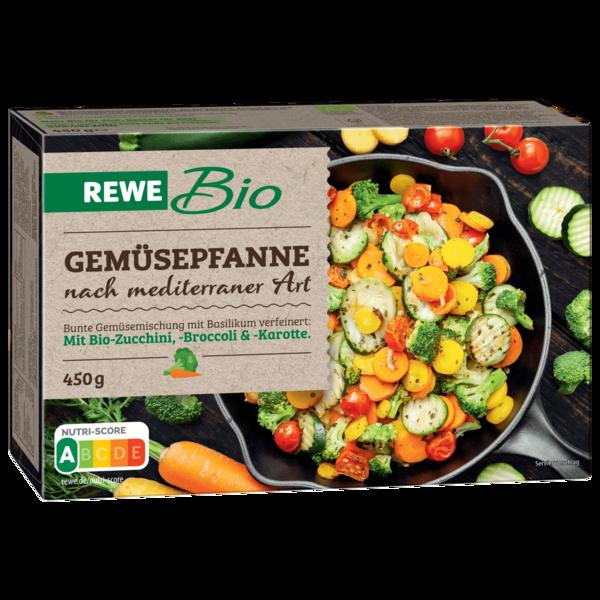 REWE Bio Gemüsepfanne mediterrane Art 450g