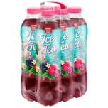 Rewe Beste Wahl Iced Tea Eistee Himbeere-Brombeere 6x1l