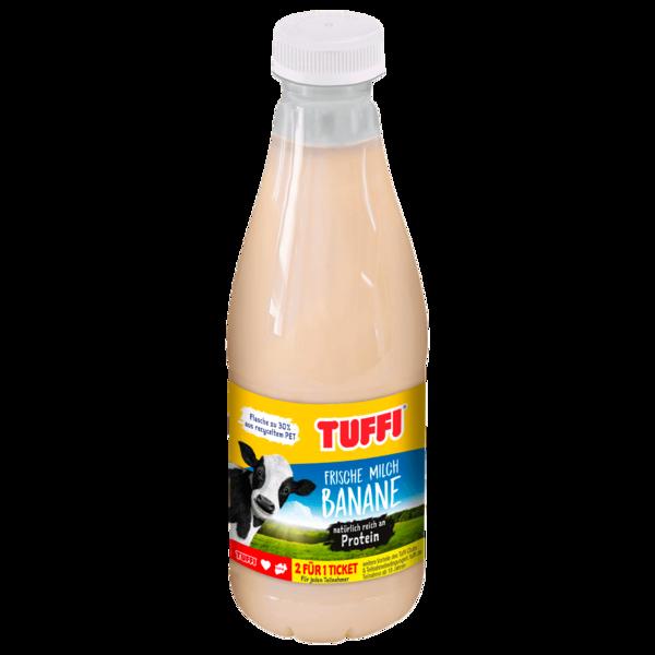 Tuffi Bananen Milch 0,1% 0,5l