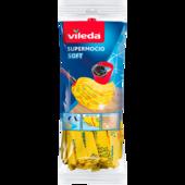 Vileda SuperMocio Soft Wischmop Ersatz mit 30% Microfaser