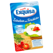 Exquisa Frischkäsescheiben Natur 125g