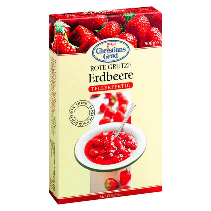 Christians Grød Grütze Erdbeere 500g