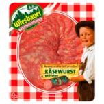 Wiesbauer Käsewurst gebraten 1A Salami 80g