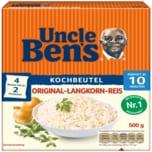 Uncle Ben's Original-Langkorn Reis im Beutel 10-Minuten 4x125g