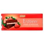 Böhme Creme-Schokolade Erdbeer 100g