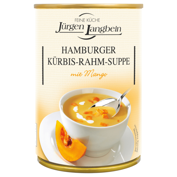 Jürgen Langbein Hamburger Kürbis-Rahm-Suppe 400ml