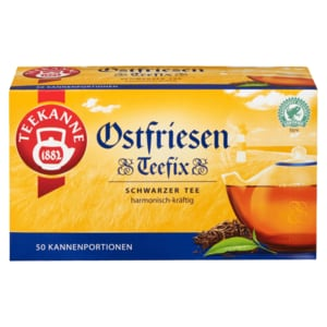 Teekanne Ostfriesen Teefix 140g, 50 Beutel
