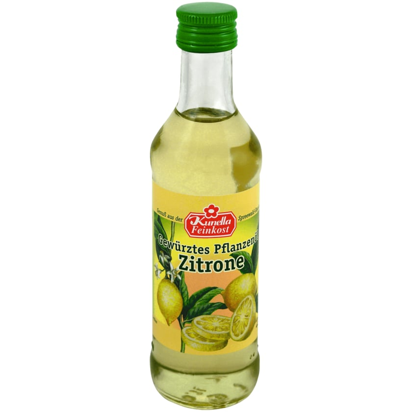 Kunella Gewürztes Pflanzenöl Zitrone 100ml