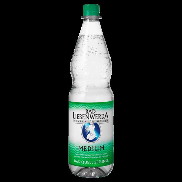 Bad Liebenwerda Mineralwasser Medium 1l