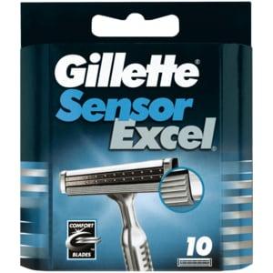 Gillette SensorExcel Universal Systemklingen 10 Stück