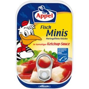 Appel MSC Hits für Kids Fisch-Minis in Ketchup-Sauce 100g