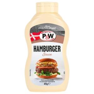P&W American Style Hamburger-Sauce 425g