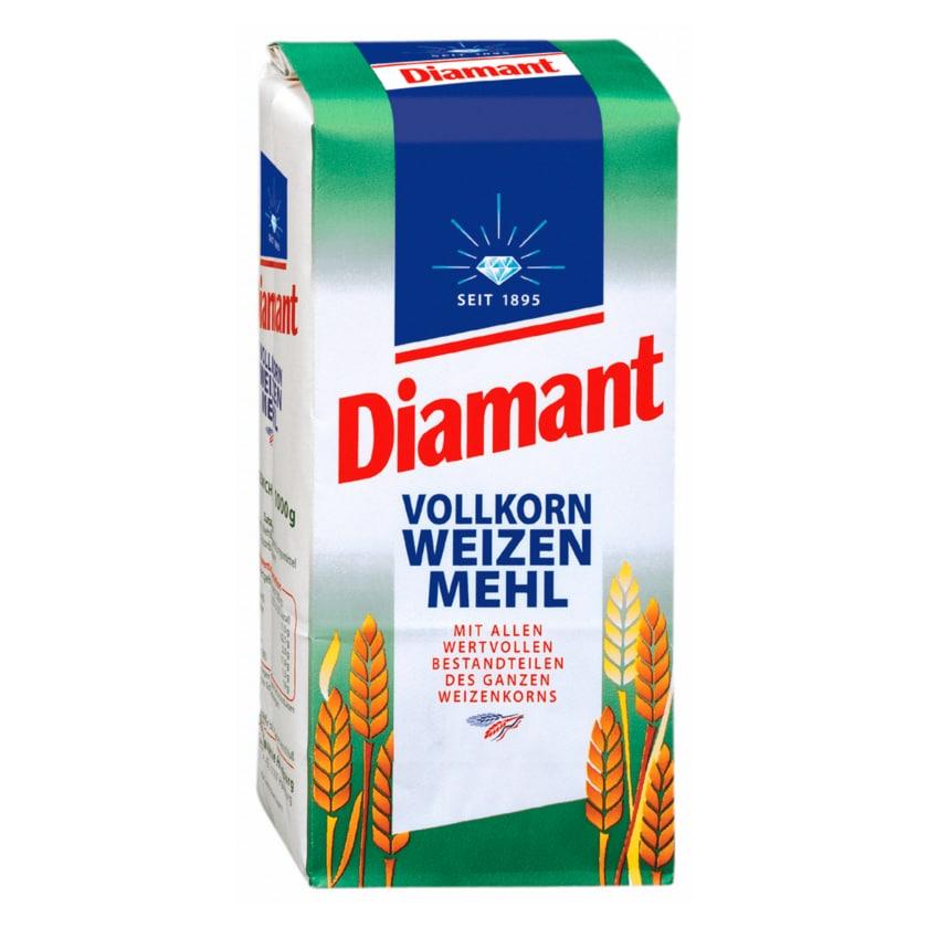 Diamant Vollkorn-Weizenmehl 1kg