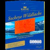Krone Fisch Sockeye-Wildlachs 150g