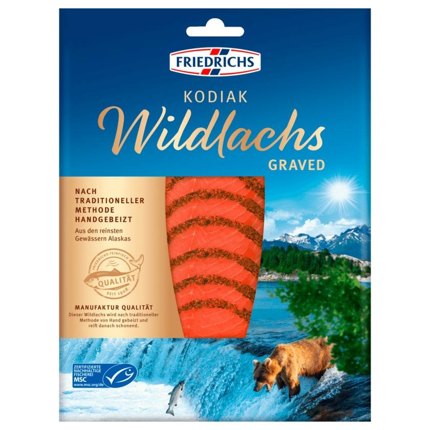 Friedrichs Kodiak Wildlachs Graved 100g