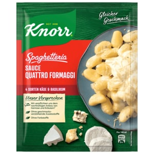 Knorr Sauce Quattro Formaggi 250ml