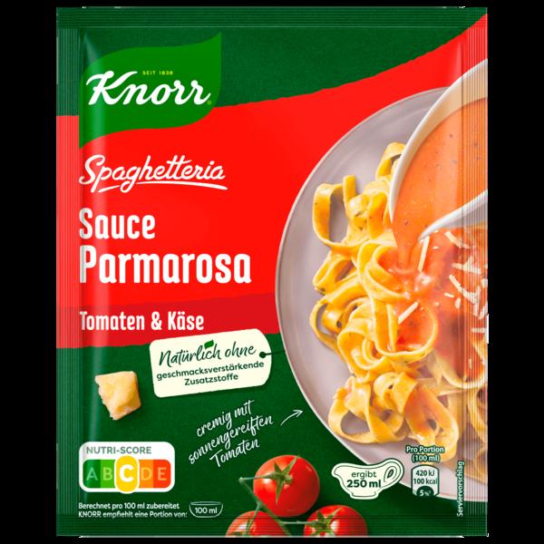 Knorr Spaghetteria Sauce Parmarosa mit Tomaten & Käse 250ml