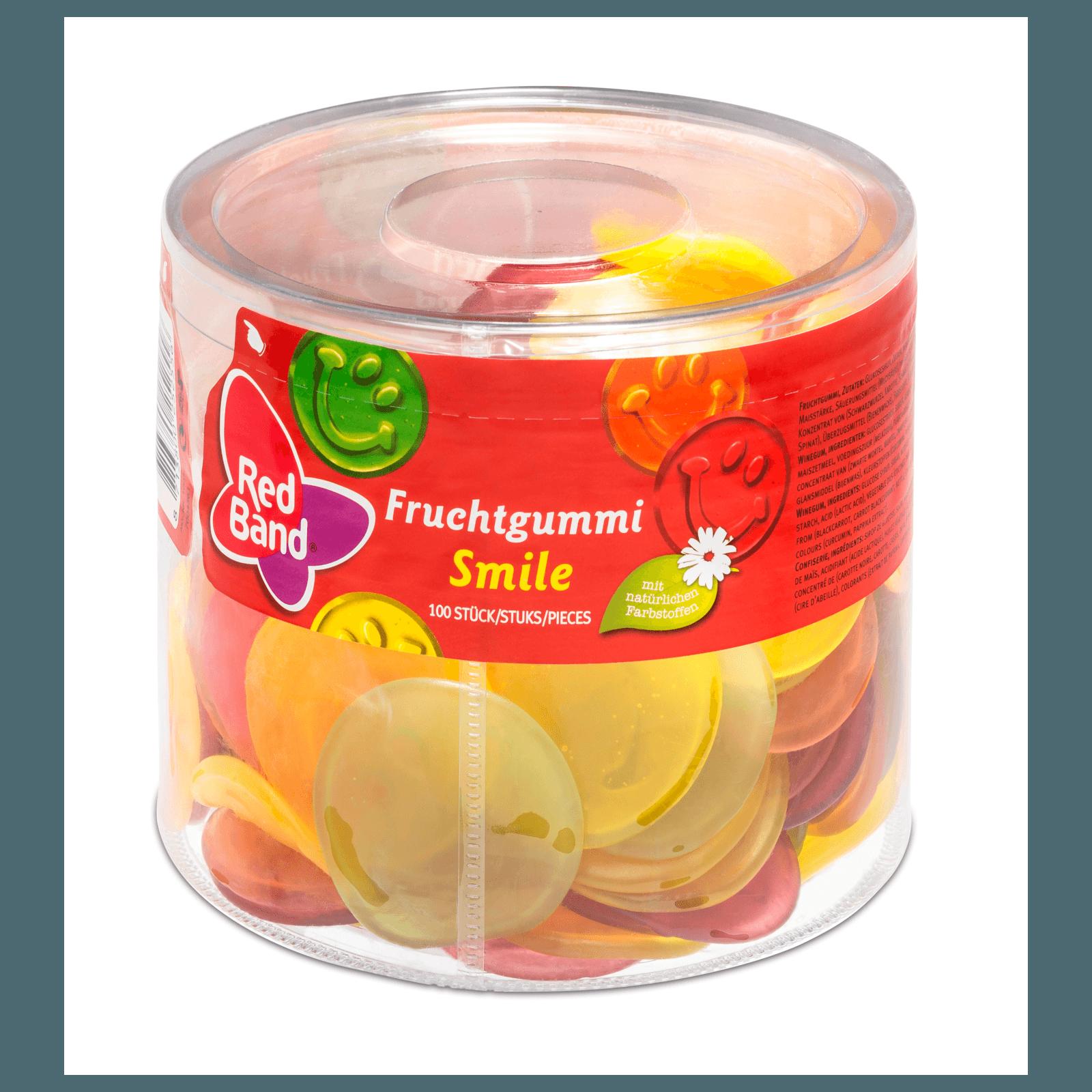 Red Band Fruchtgummi Smile 1,2kg, 100 Stück