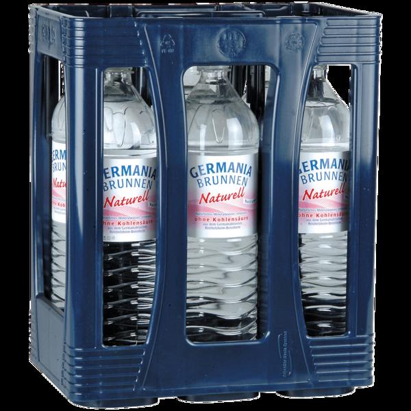 Germania Mineralwasser Naturell 6x1,5l