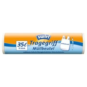 Swirl Tragegriff-Müllbeutel 35l, 15 Stück