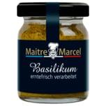 Maitre Marcel Basilikum erntefrisch verarbeitet 50g